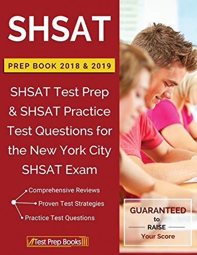 Shsat Prep Books 2018 & 2019: Shsat: Shsat Prep Books