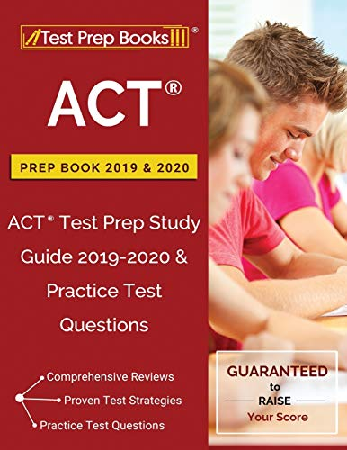 9781628456066: ACT Prep Book 2019 & 2020: ACT Test Prep Study Guide 2019-2020 & Practice Test Questions
