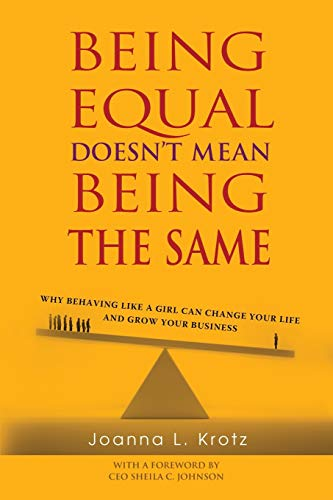 9781628652505: Being Equal Doesn't Mean Being The Same