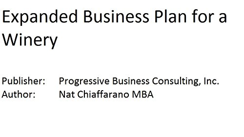 9781628673975: Expanded Business Plan for a Winery