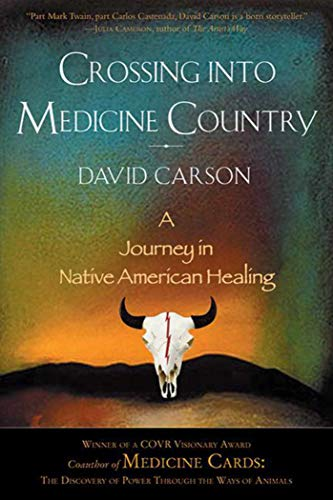 Crossing into Medicine Country: A Journey in Native American Healing: Carson, David