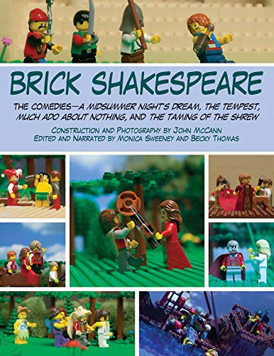 9781628737332: Brick Shakespeare: The Comedies—A Midsummer Night's Dream, The Tempest, Much Ado About Nothing, and The Taming of the Shrew