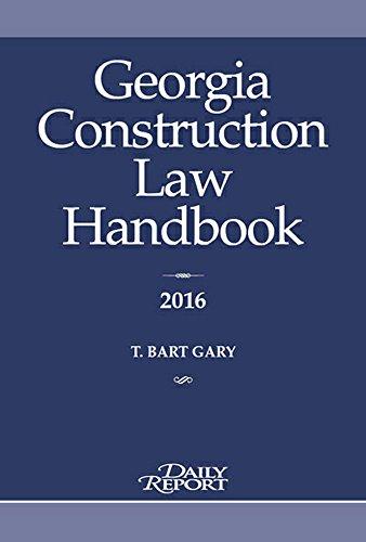 9781628810370: Georgia Construction Law Handbook 2016
