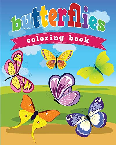9781628846560: Butterflies Coloring Book (Avon Coloring Book)