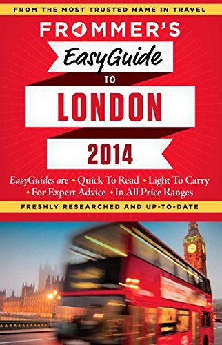 9781628870152: Frommer's Easyguide to London (Easy Guides)