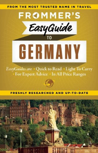 9781628870640: Frommer's EasyGuide to Germany (Easy Guides)