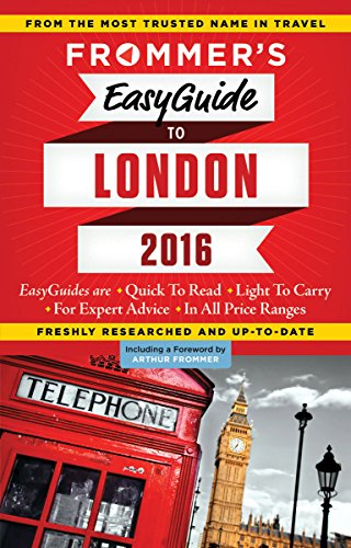9781628871869: Frommer's EasyGuide to London 2016 [Idioma Inglés]
