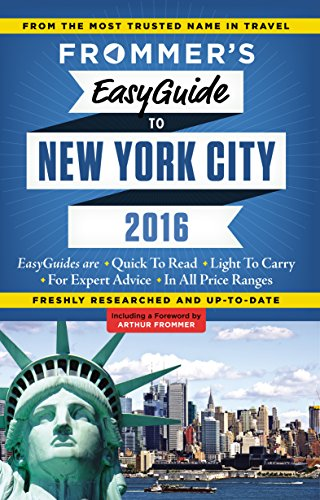 9781628871968: Frommer's EasyGuide to New York City 2016