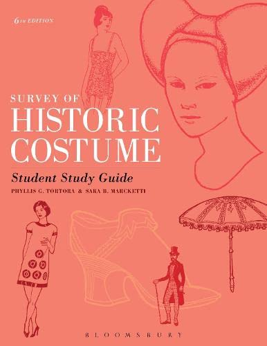 9781628922349: Survey of Historic Costume Student Study Guide