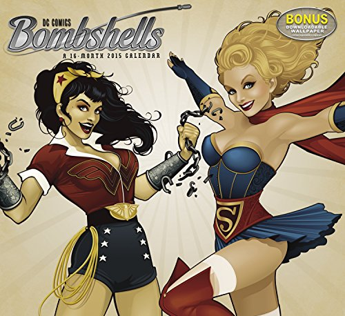 9781629050201: DC Comics Bombshells 2015 Calendar