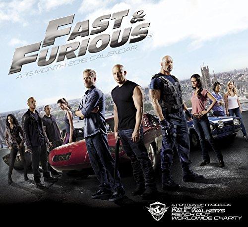 9781629050515: Fast & Furious 2015 Calendar