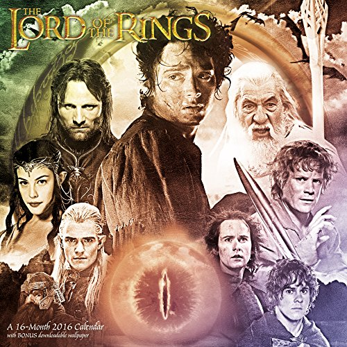 9781629051857: The Lord of the Rings Trilogy Wall Calendar (2016)