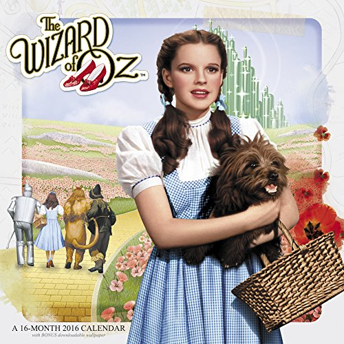 9781629051994: The Wizard of Oz 2016 Calendar: Free Downloadable Wallpaper Included