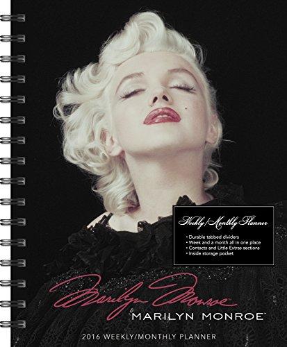 9781629052410: Marilyn Monroe 2016 Weekly Monthly Planner