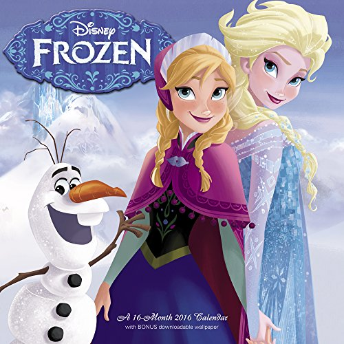 Disney Frozen 2016 Calendar