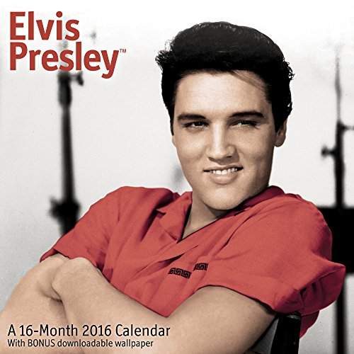 9781629053707: Elvis Presley Wall Calendar (2016) by Mead (2014-06-17)