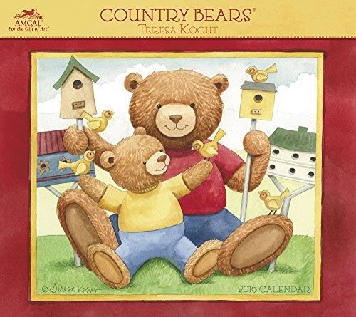 9781629054155: Country Bears 2016 Calendar