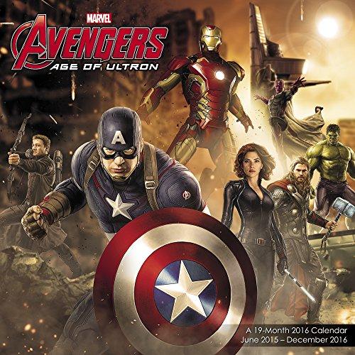 9781629055367: Avengers: Age of Ultron Wall Calendar 19 Month (2016)