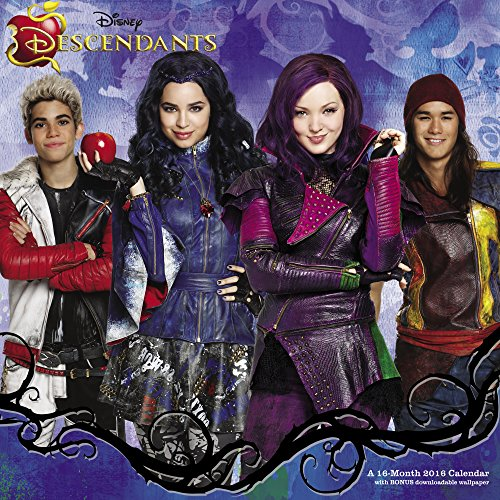 9781629055763: Disney Descendants Wall Calendar (2016)