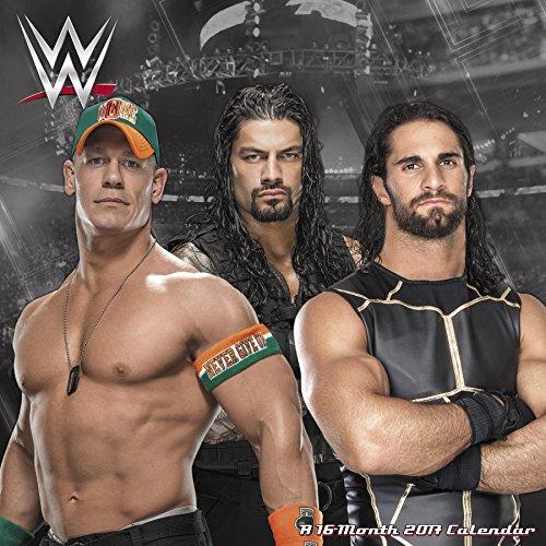 WWE Wall Calendar (2017)