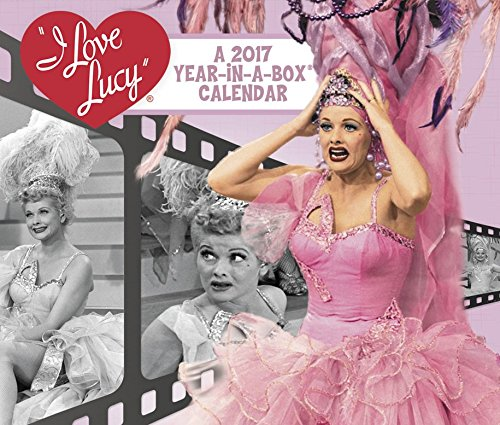 I Love Lucy Year In A Box Calendar 2017 By Year In A Box