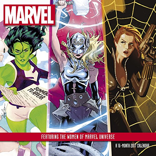 Women of Marvel Wall Calendar (2017)