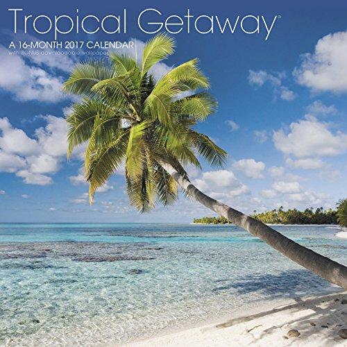 Tropical Getaway Wall Calendar (2017)