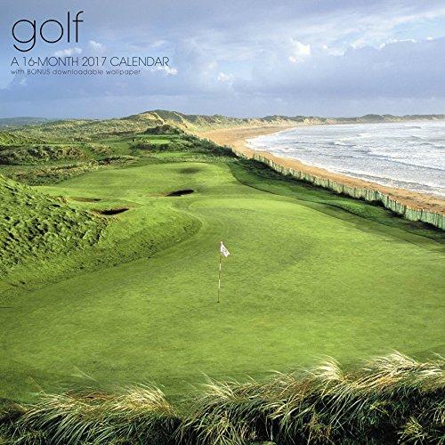 Golf Wall Calendar (2017)