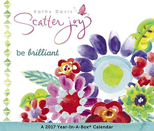 9781629058542: Kathy Davis - Scatter Joy Year-In-A-Box Calendar (2017)