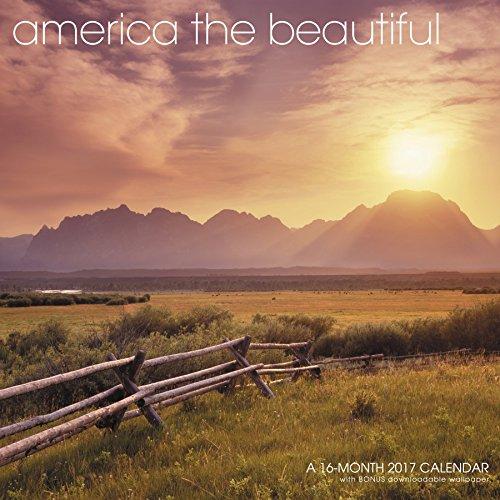 America The Beautiful Wall Calendar (2017)