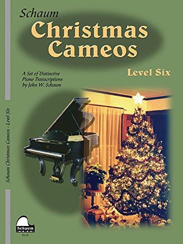 9781629060378: Christmas Cameos: Level 6 (Schaum Publications Christmas Cameos)