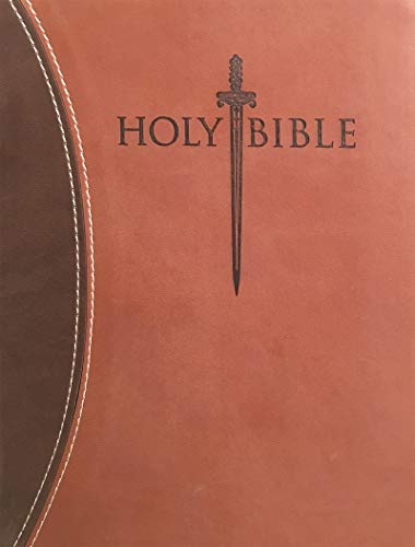 9781629114286: KJVER Thinline Bible Personal Size Dark Brown Light Brown Ultrasoft: King James Version Easy Read