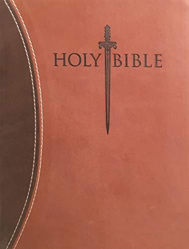 9781629115245: KJV Sword Study Bible Giant Print Dark Brown Light Brown Ultrasoft Indexed