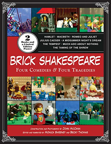9781629145273: Brick Shakespeare: Four Tragedies & Four Comedies