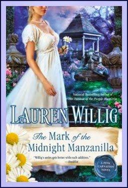 The Mark of the Midnight Manzanilla: Lauren Willig