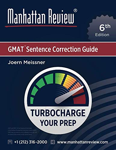 9781629260679: Manhattan Review GMAT Sentence Correction Guide [6th Edition]: Turbocharge Your Prep