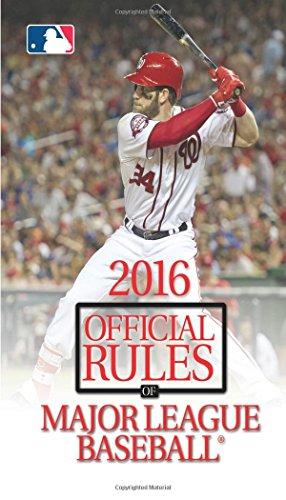 2016 Official Rules of Major League Baseball: Triumph Books