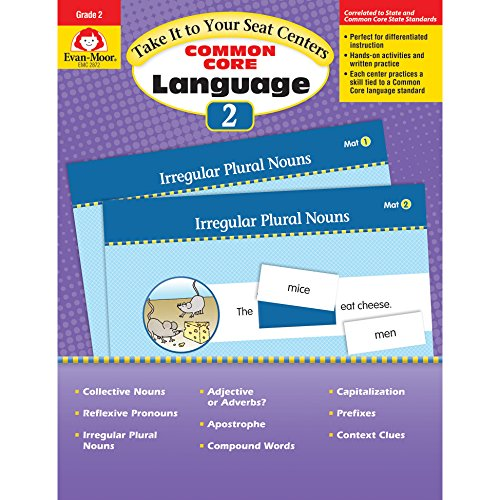9781629381411: Take It To Your Seat: Language Centers, Grade 2
