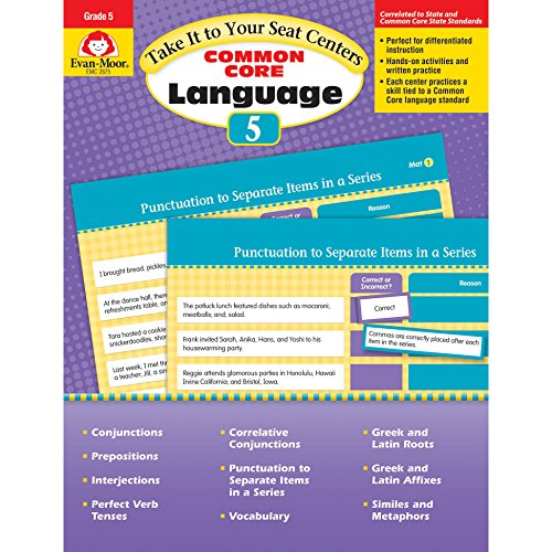 9781629381442: Take It To Your Seat: Language Centers, Grade 5