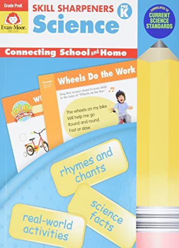 Skill Sharpeners Science, Grade Pre-K (Paperback)