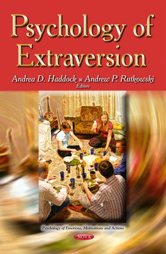 9781629486291: Psychology of Extraversion (Psychology of Emotions, Motivations and Actions)