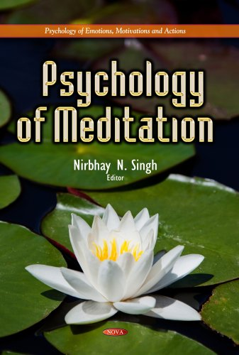 9781629486376: Psychology of Meditation (Psychology of Emotions, Motivations and Actions)