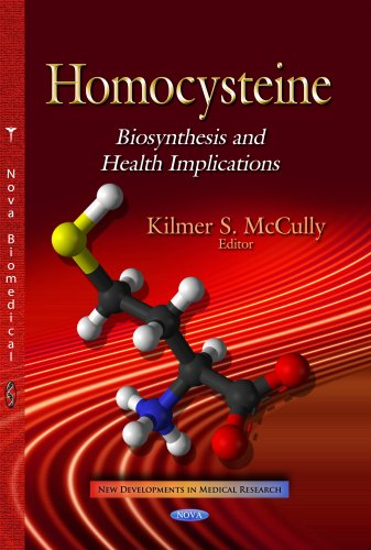 9781629486390: Homocysteine: Biosynthesis and Health Implications (New Developments in Medical Research)