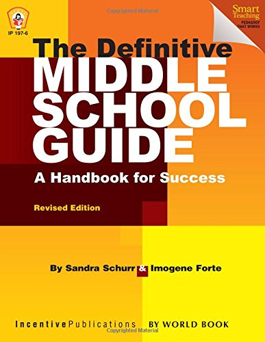 9781629500089: The Definitive Middle School Guide