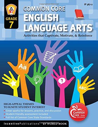 9781629502021: Common Core English Language Arts Grade 7