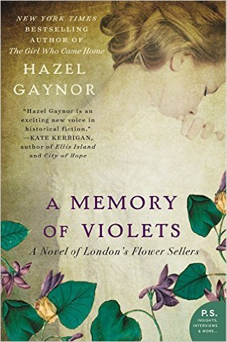 9781629534053: A Memory of Violets: A Novel of London's Flower Sellers
