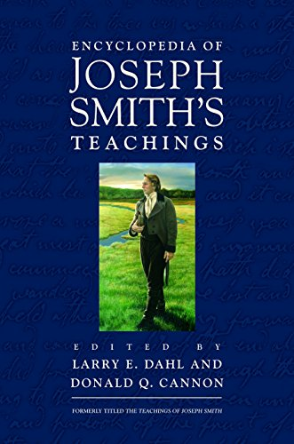9781629720173: Encyclopedia of Joseph Smith's Teachings