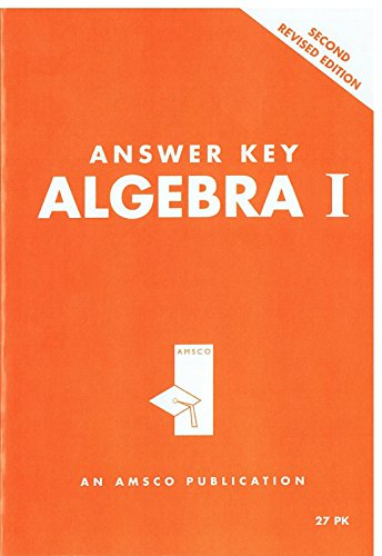 Amsco Algebra 2 Textbook Answer Key