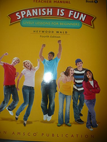 9781629745022: Spanish Is Fun Book 1 Teacher Edition