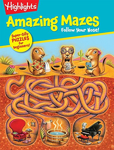 9781629792002: Follow Your Nose! (Highlights Amazing Mazes)